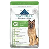 Blue Natural Veterinary Diet GI Gastrointestinal Support Dry Dog Food 22 lb For Sale