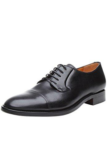 SHOEPASSION No. 5400 Exklusiver Business- Oder Freizeitschuh für Herren. Rahmengenäht und Handgefertigt aus Feinstem Leder. Schwarz