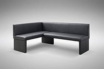 Eckbank modern  Design Eckbank Otto modern Kunstleder schwarz - Rechts: Amazon.de ...
