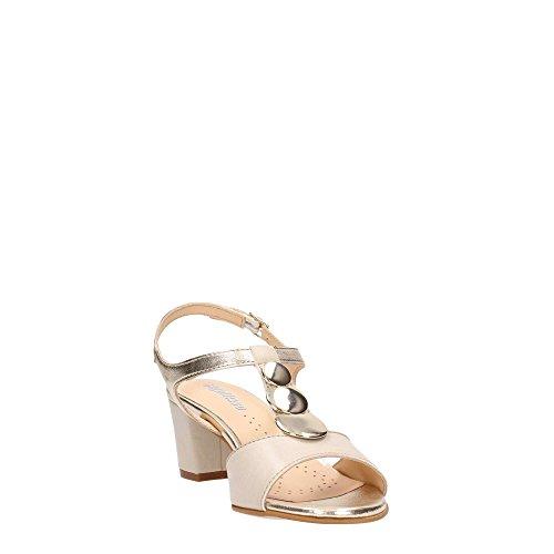 MELLUSO - Sandalias de vestir para mujer Camel