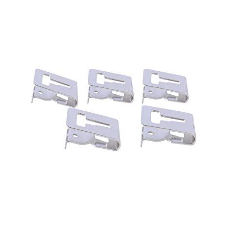 Part Number Metal (N268241 Belt Hook Kit Bit Clip for DeWalt 20V Drill Driver N169778 N086039 DCD980 DCD985 DCD780 (5 pack))