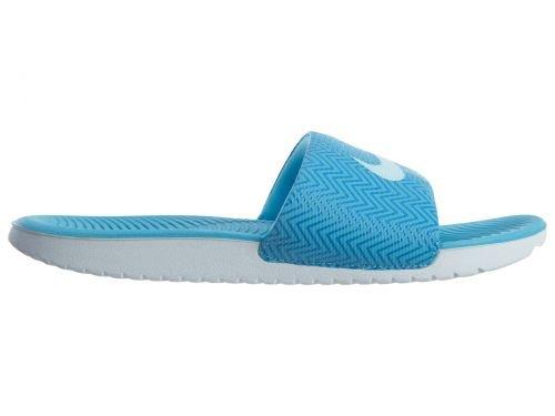 Nike Kawa Donne Di Stampa Scorrevole Stile: 882693 Donne 882.693-400 Cloro Blu / Blu Clacier