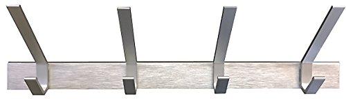 "Review Headbourne 8009E 18"" Aluminum Hook Rail / Coat Rack with By Headbourne by Headbourne"