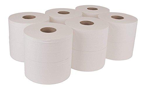 Mini Jumbo Bath Tissue Roll (2-Pack/ 24 Total) by Tork (Image #1)