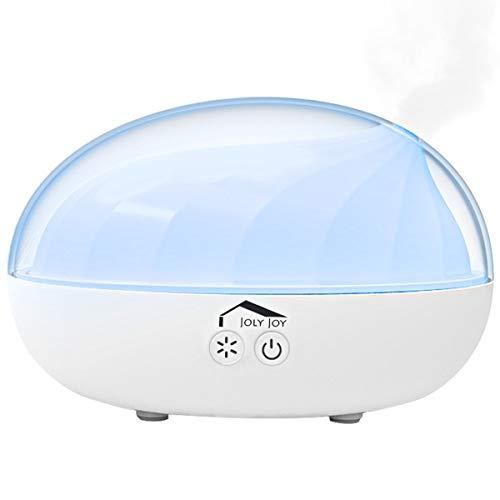 Difusor de Aromaterapia, Joly Joy Difusor de Aceite Esencial 300 ml Humidificador Ultrasónico con iluminación LED, Modo de...