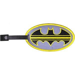 Luggage Tag Dc Comics Batman Striped Logo -