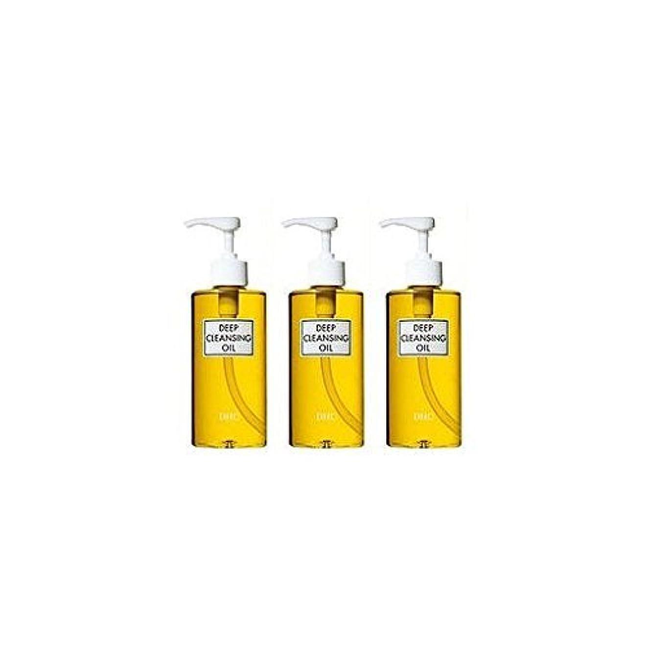 伸ばす電化するすごいDHC薬用ディープクレンジングオイル(L)3本セット