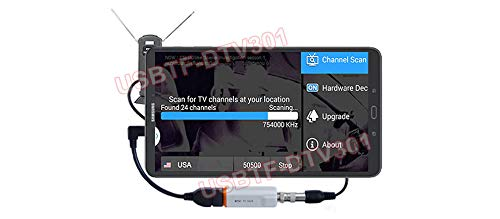 AllAboutAdapters Android HD Aerial TV Tuner for Tablet Smart Phone Android TV Box