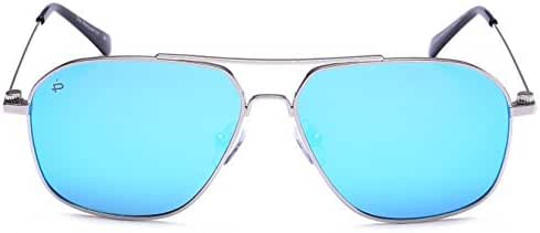 "PRIVÉ REVAUX ""The Marquise"" Handcrafted Designer Polarized Aviator Sunglasses For Men & Women"