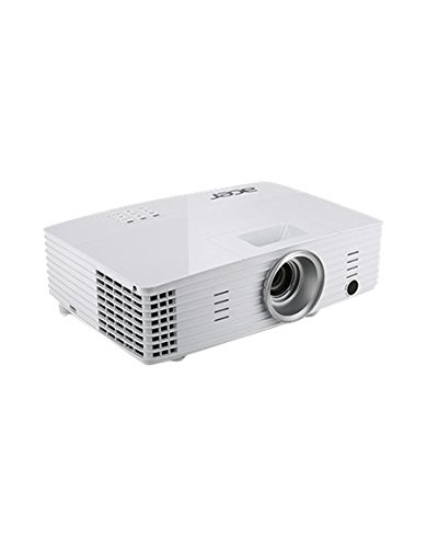 Acer P1185 3D SVGA DLP-Projektor (direkt 3D-fähig über HDMI 1.4a, 3.200 ANSI Lumen, Kontrast 13.000:1, 800 x 600 Pixel, MHL) weiß