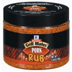 McCormick Pork Dry Rub, 3.46-Ounce Units (Pack of 6)