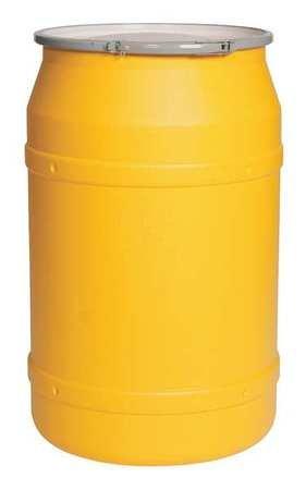 Transport Drum, Open Head, 57.5 gal, Yellow