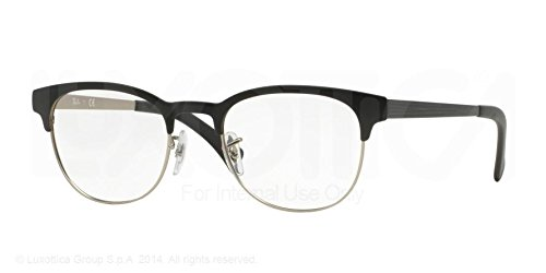 ray-ban-eyeglasses-rx6317-2832-top-black-on-matte-silver-51-20-145