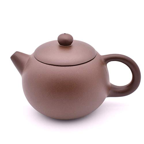 QMFIVE Manual Chinese tradition Xi Shi Purple clay teapot,Black(290ml)