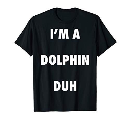Easy Halloween Dolphin Costume Shirt for Men Women -