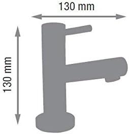 Moderne Designer Kaltwasserarmatur-Waschtischarmatur-Chromausf/ührung-H/öhe:130mm-Ferro-BEM2PL