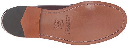 Sebago Mens Legacy Penny Loafer Red Leather