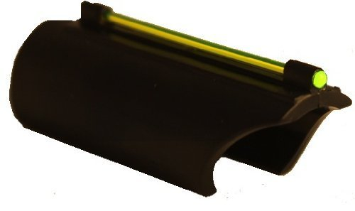 AR-GEAR Glowing Green Plain Barrel Mossberg 500 590 835 Maverick 88 12 and 20 Gauge Shotgun Tactical Front Fiber Optic Sight