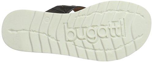 Bugatti J93906n, Mules para Mujer Negro (Schwarz 100)