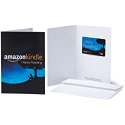 Amazon.com $50 Gift Card in a Greeting Card (Amazon Kindle Design)