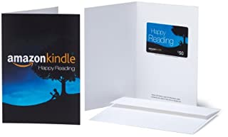 Amazon.com $50 Gift Card in a Greeting Card (Amazon Kindle Design) (BT00CTP93I) | Amazon price tracker / tracking, Amazon price history charts, Amazon price watches, Amazon price drop alerts