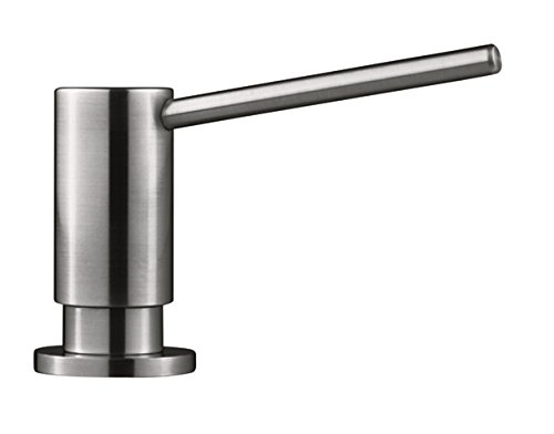 Franke SD3450 Steel Counter-Sunk Kitchen Top Refill Soap Dispenser, Steel