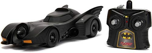 Jada 30331 Hollywood Rides DC Comic Batman 1989 Batmobile RC Radio Control Toy Vehicle