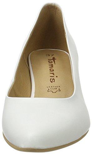 white Zapatos Mujer Tamaris De Para 100 Tacón 22440 Blanco wF16q6TgAx