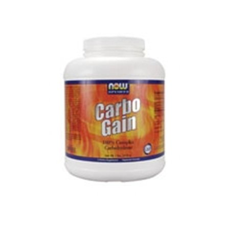Now Foods Carbo Gain 100% Complex Carbohydrate - 8 lbs. 6 Pack