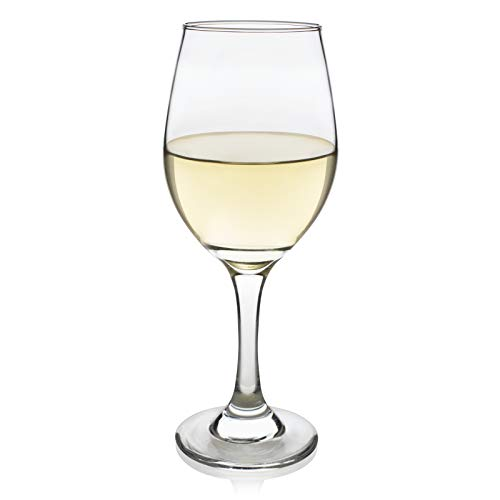 Libbey Basics White Wine Glasses, Set of 4