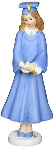 Growing up Girls from Enesco Brunette Graduate Figurine 7.5 (Girl Graduate)
