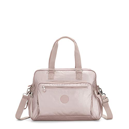 Kipling Women's Alanna Diaper Bag, Metallic Rose, One Size
