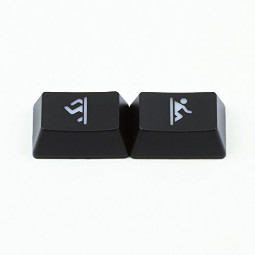 Max Keyboard - Cherry MX R1 Backlit Novelty Keycap Set Portal with Wire Keycap Puller (R1-1X1.50) ()