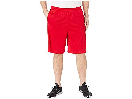 adidas Men's Design 2 Move Climacool 3-Stripes Training Shorts, Scarlet/Black, MT by adidas