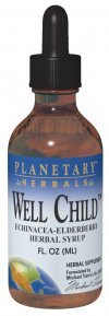 Planetary Formulas Well Child, Echinacea-Elderberry Syrup, 8 fl oz (236.56 - Herbal Well Child Syrup