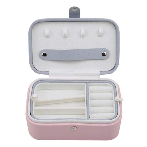 Jewelry Packaging Box Casket Box For Exquisite Makeup Case Cosmetics Organizer S (Main Colors - Pink)