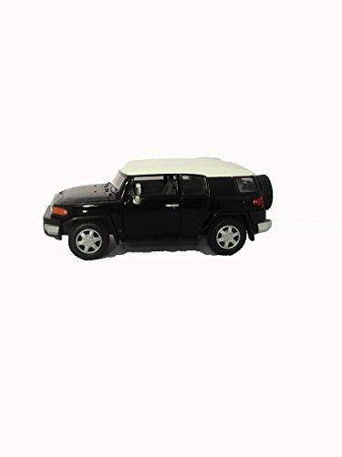 KINSMART DIE-CAST Toyota FJ Cruiser Black Scale 1:36