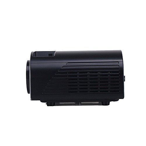 Lcd led 1200 lumens mini projector multi media portable for Lumen pocket projector