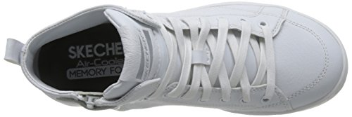 Skechers Street Womens Omne-midtown Fashion Sneaker Bianco