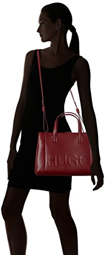 Dark Rouge Cabas Mayfair BOSS Red Tote Hugo nq7W8X