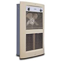 King Electric Series 2 Forced Air Wall Heater LPW2445T-S2-AD-R Almond 240V 4500W