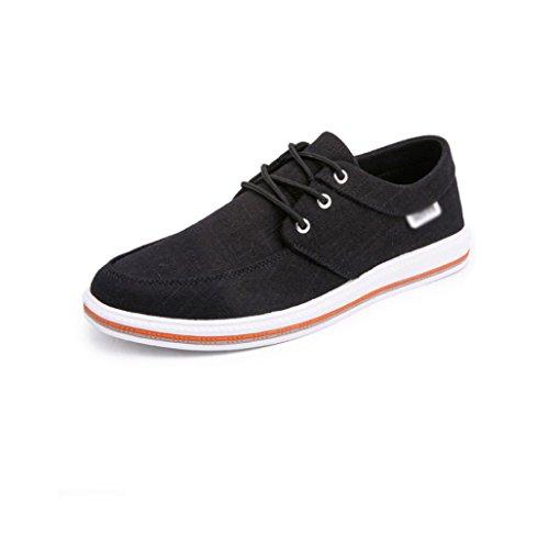 WFL selvaggia uomo Pechino scarpe Nero tendenza stoffa tela casual traspirante in scarpe traspirante vecchia Scarpe traspiranti di da rEArq6