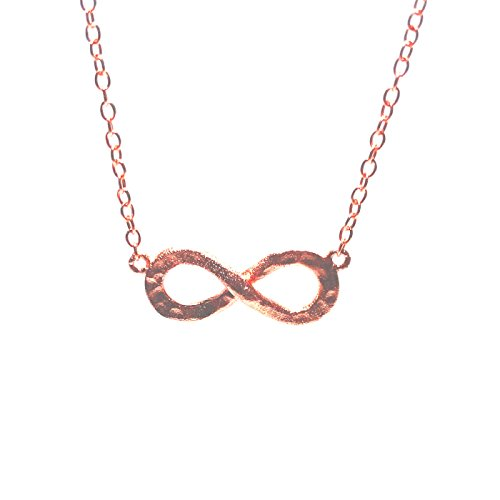 apop nyc Rose Goldtone Sterling Silver Infinity Pendant Necklace 16 inch [Jewelry]