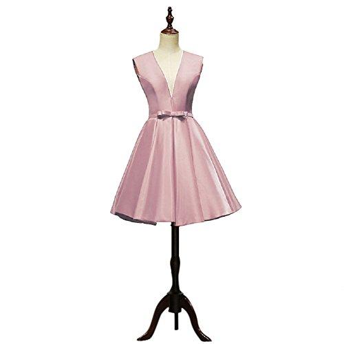 Rosa Para Trapecio Mujer Vestido Vimans 52 BcUPW0