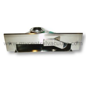 (Central Vacuum VacPan Automatic Dust Pan Sweeping Inlet in Stainless Steel Finish)