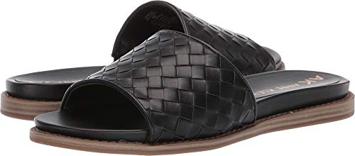 Anne Klein Women's Elda Black 7.5 M US (Klein Anne Slides)