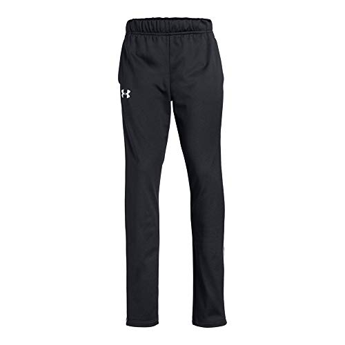 Girls Tricot Pant Brushed - Under Armour UA Track YLG Black