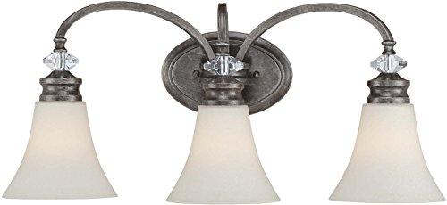 Boulevard Collection 1 Light - Craftmade 26703-MB 3 Light Vanity