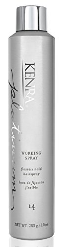 Kenra Platinum Working Spray #14, 80% VOC, 10-Ounce by Kenra