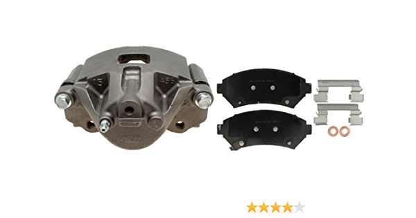 Loaded ACDelco 18R12616 Professional Front Driver Side Disc Brake Caliper Assembly with Pads Remanufactured
